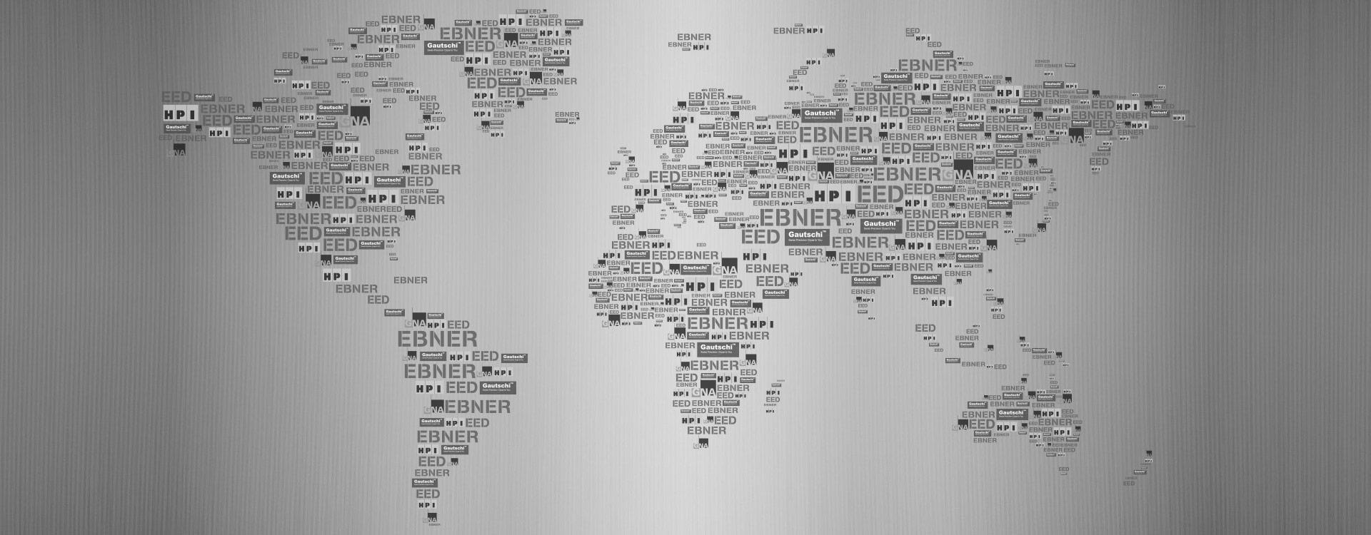 World map - EBNER Group