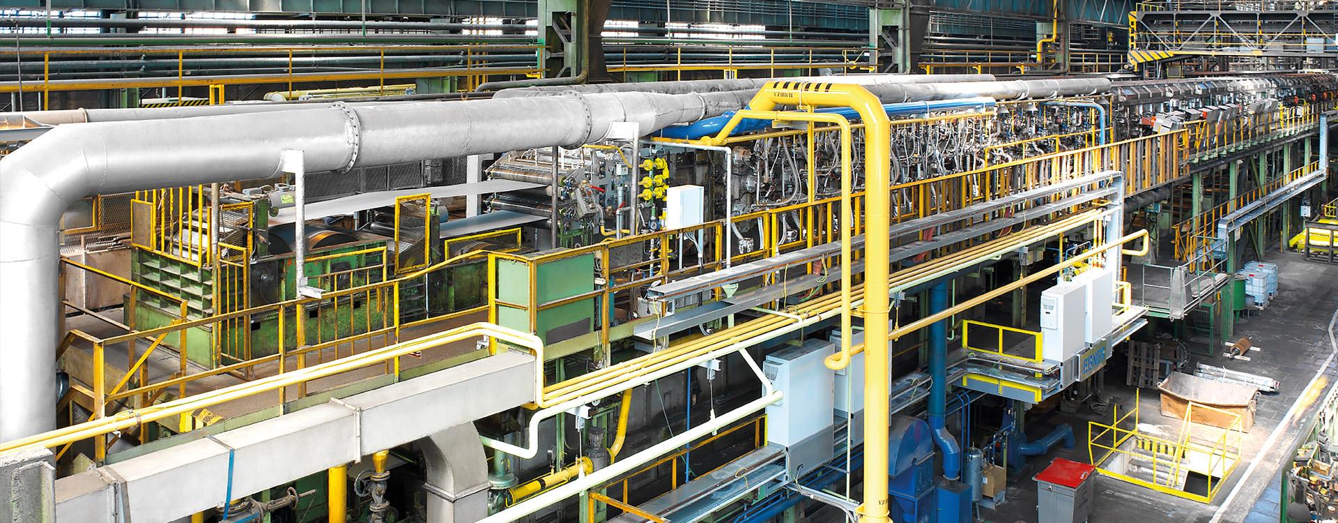 HICON/H2 ® decarburization line at GO Stalprodukt, Frydek-Mistek, Czech Republic