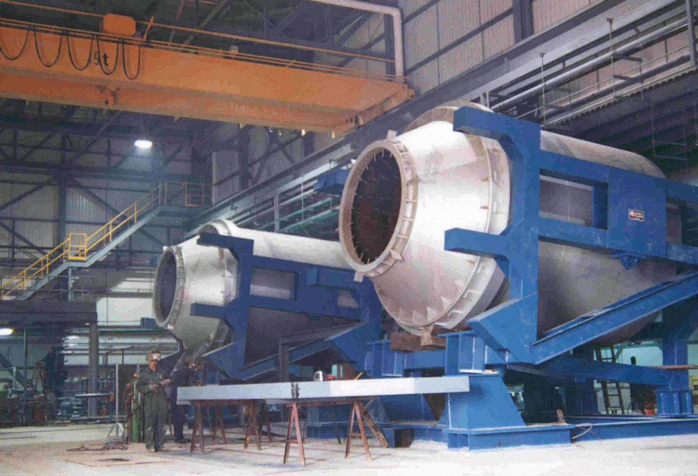 The first-ever rotary furnace project with a capacity of 9 t